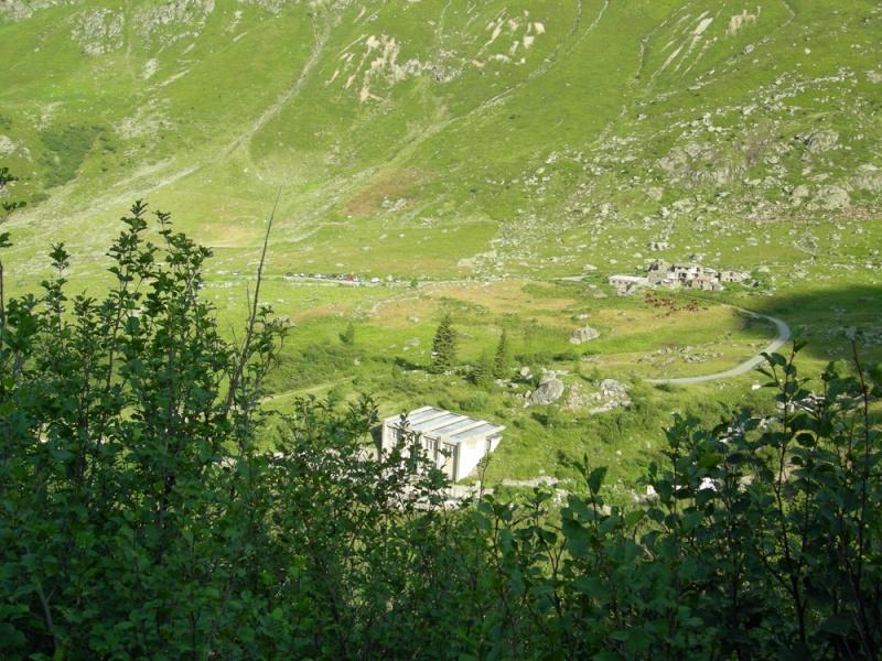 Sainte-Foy - Col du Mont - Col de Montséti Dscn9715