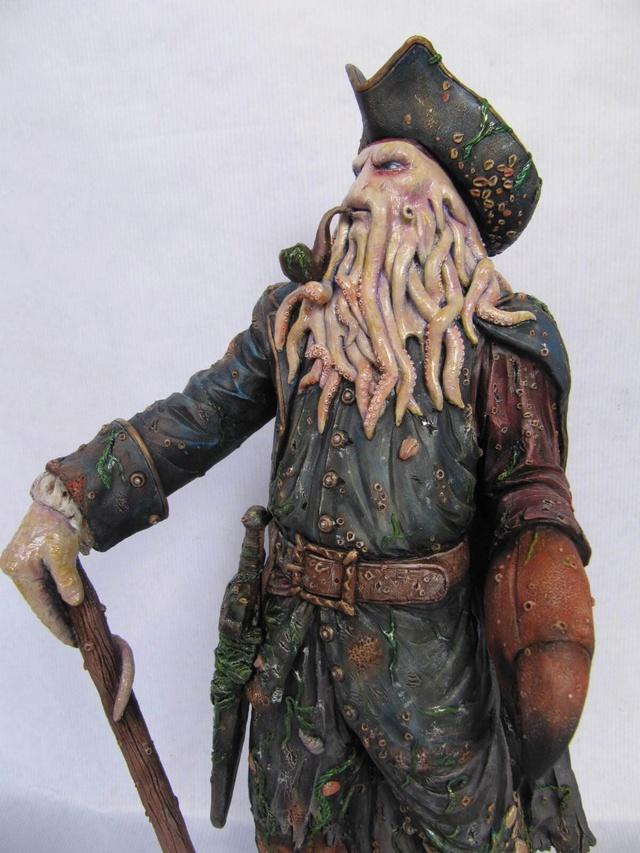 Davy Jones 1/6 résine kit. Davy410