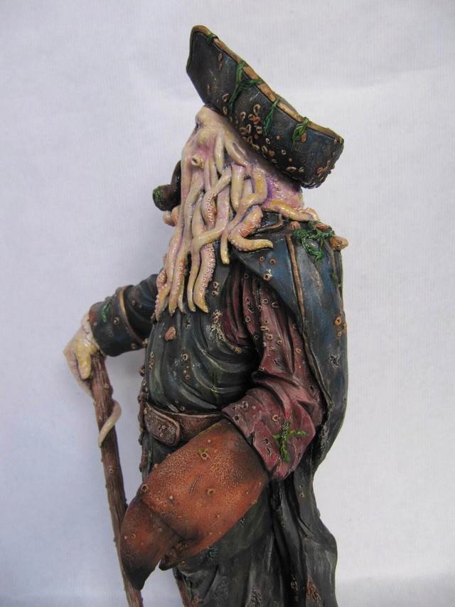 Davy Jones 1/6 résine kit. Davy610