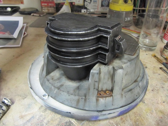 Dr Doom PF Sideshow repaint et custom. Img_0815