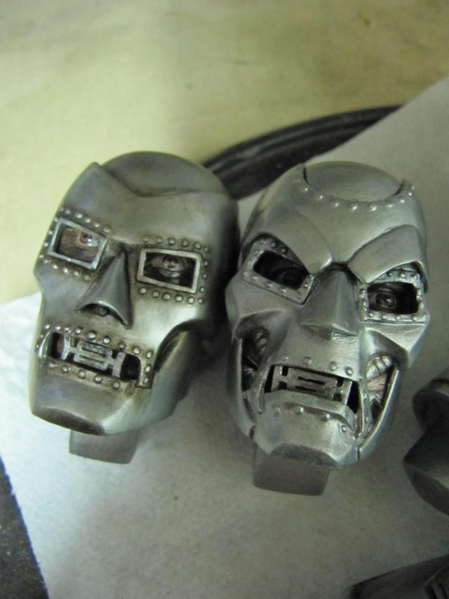 Dr Doom PF Sideshow repaint et custom. Img_0834
