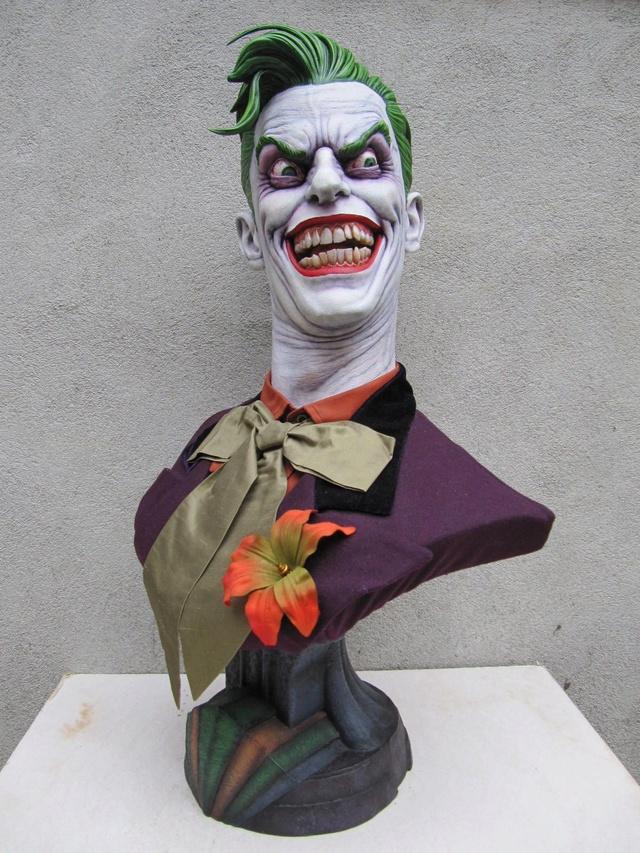 Repaint Buste Weta Sideshow . - Page 7 Joker210