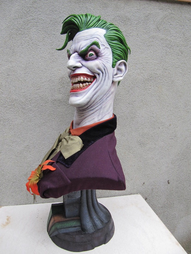 Repaint Buste Weta Sideshow . - Page 7 Joker310