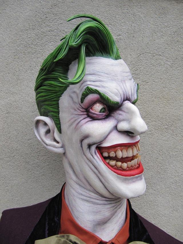 Repaint Buste Weta Sideshow . - Page 7 Joker410