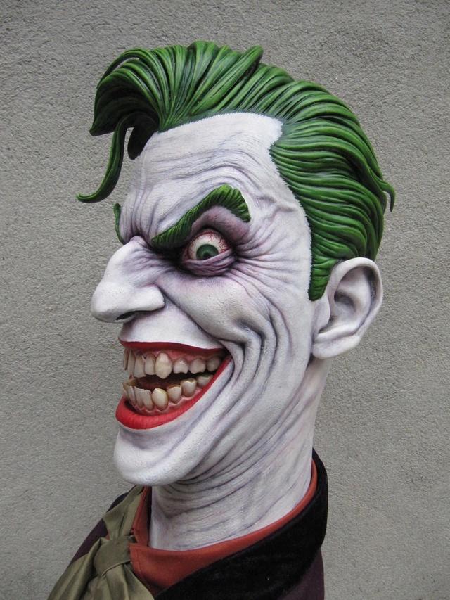Repaint Buste Weta Sideshow . - Page 7 Joker610