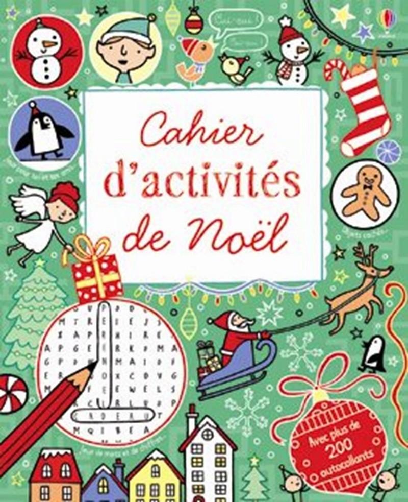 Cahier d'activités de Noël 97814010