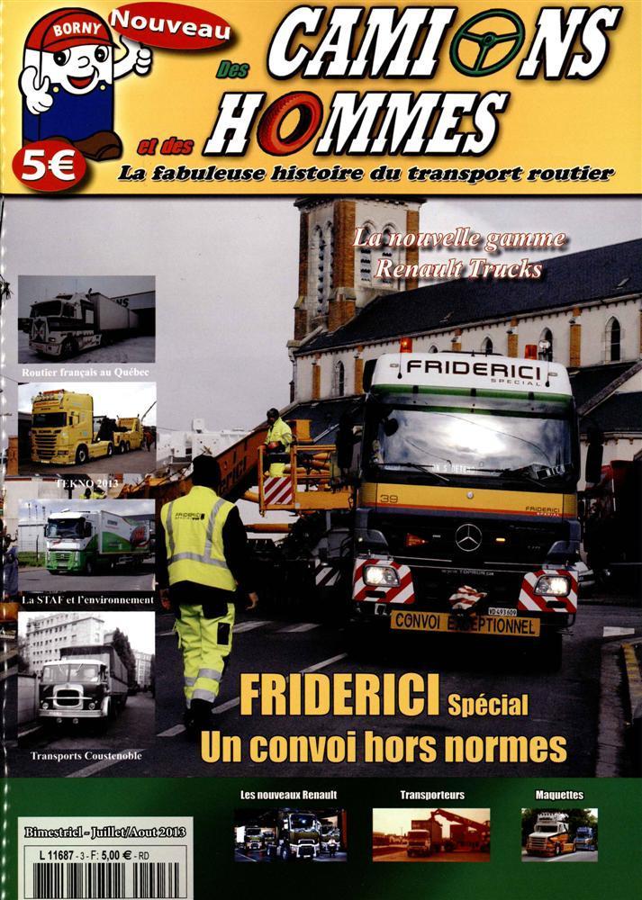 Numéro 3 du magazine Des Camions et des Hommes. L168710