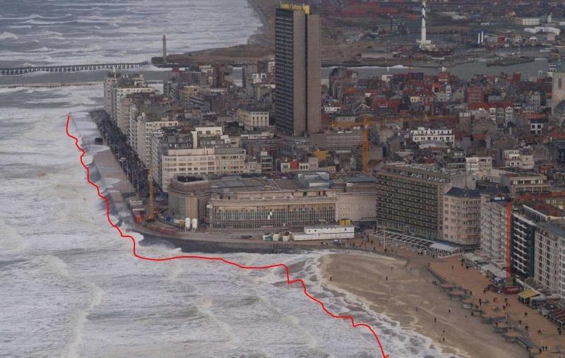 Vidéo : Très grosse tempête à Ostende en février 1993 Master10