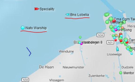 les différents OST 'Operational Sea Training' Zone_e11