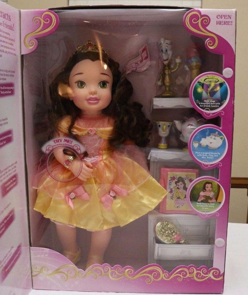 """Poupées """"Princesses Disney"""" Belle_10"""