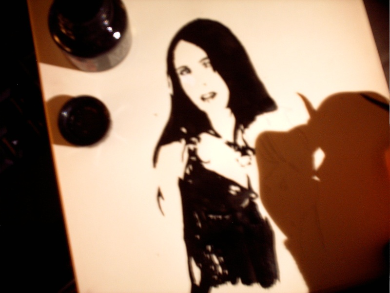 Vos Dessins : Within Temptation - Your Drawing : Within Temptation Pict0123