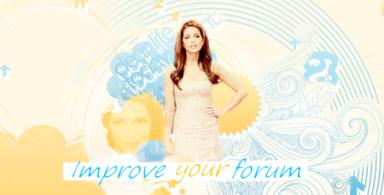 Improve your forum I_logo11