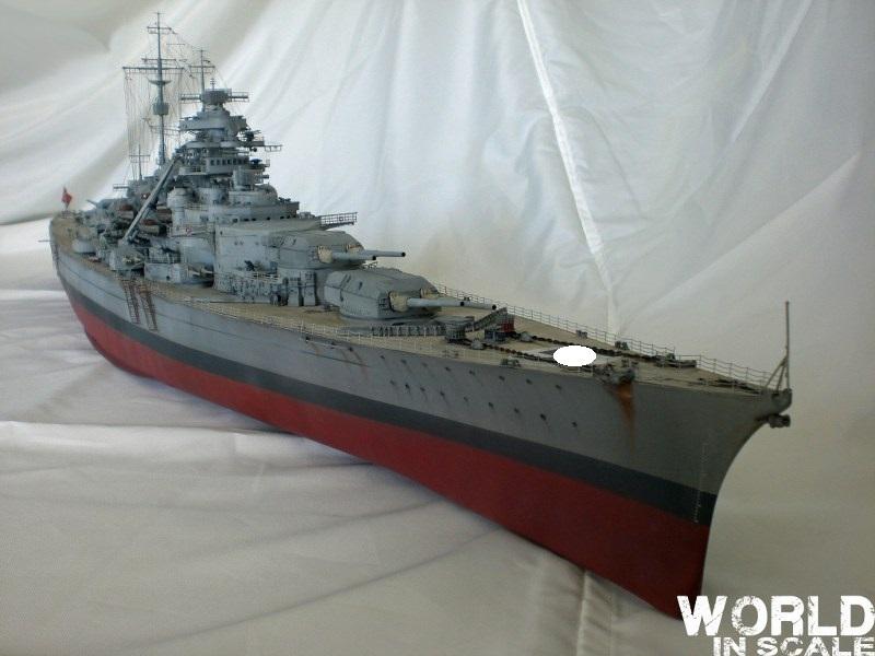 Schlachtschiff BISMARCK - 1/200 v. Trumpeter Cimg3510