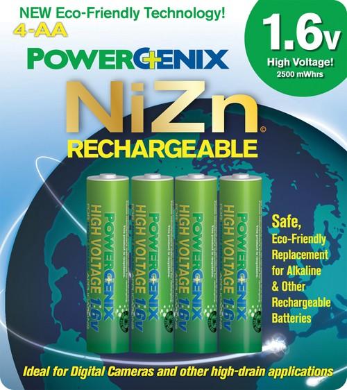 Les nouveaux accus NiZn (Nickel Zinc) Nizn110