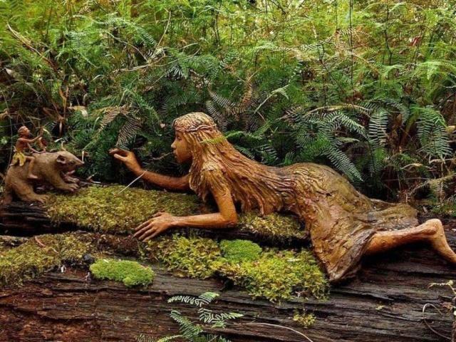 Sculptures bois Foret_11