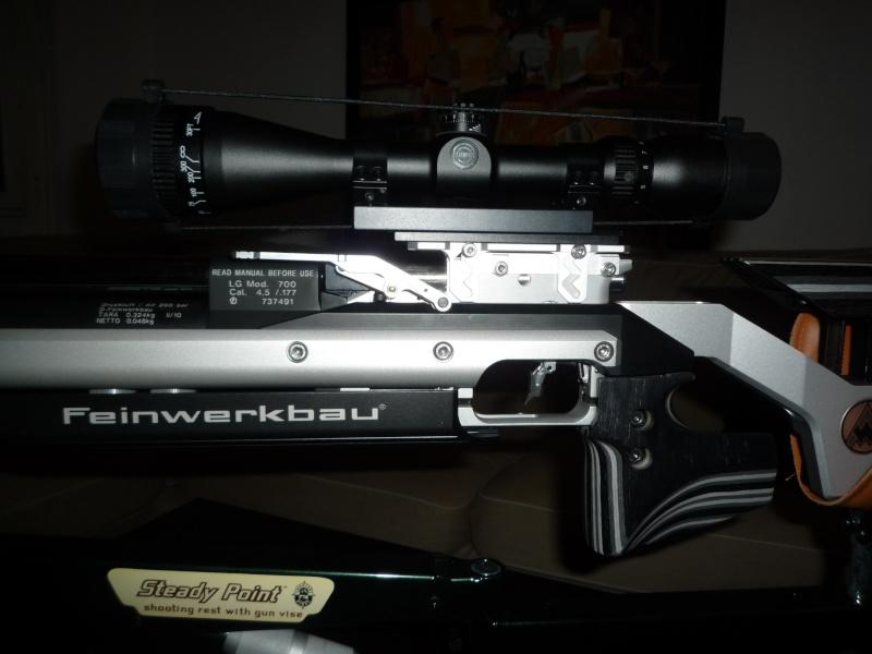Levier d'armement de Feinwerkbau P700 P1030310