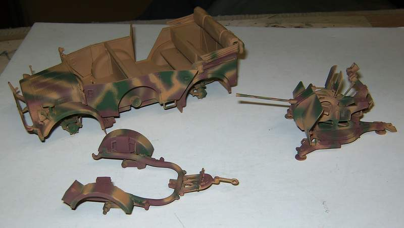Horch 1a mit 2 cm Flak 38 H0210