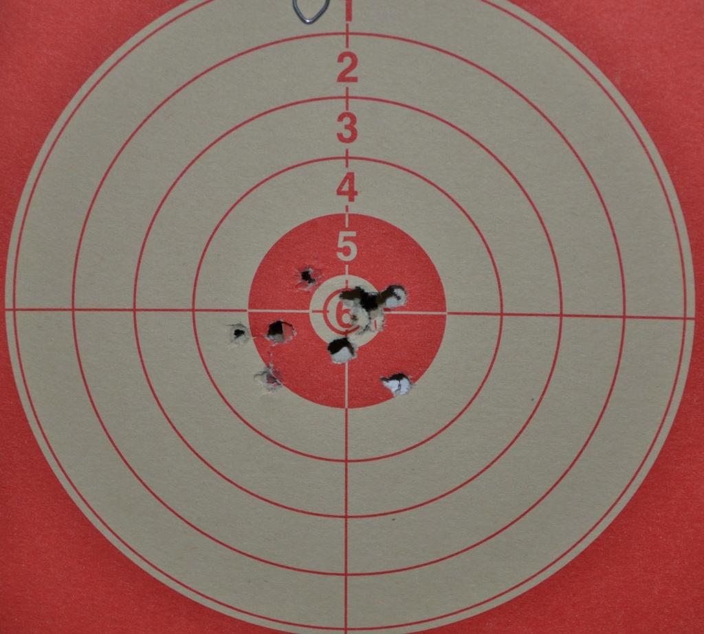 """Dan Wesson 6"""" 4.5mm diabolo/BBs CO2 Cible-10"""
