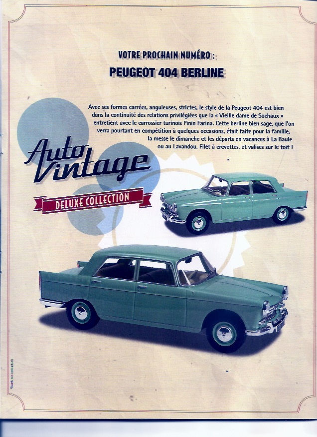 Auto Vintage 1/24 ° - Page 2 Aronde23