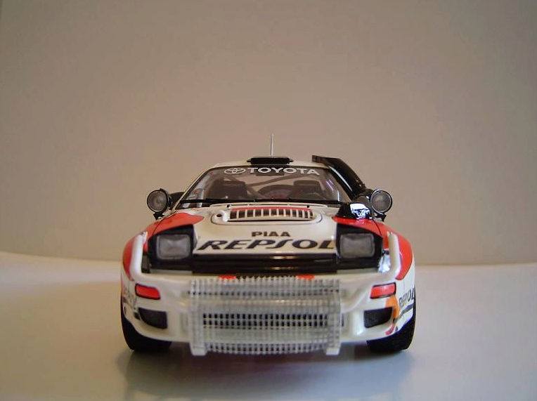 Toyota Célica Tamiya 1/24° GT FourRC  '92 Safari Rally Winner Captu276