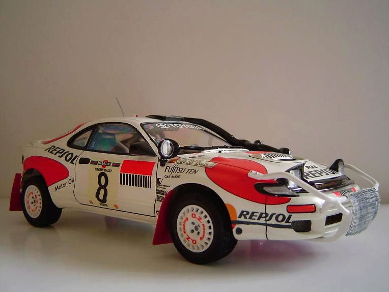Toyota Célica Tamiya 1/24° GT FourRC  '92 Safari Rally Winner Captu277