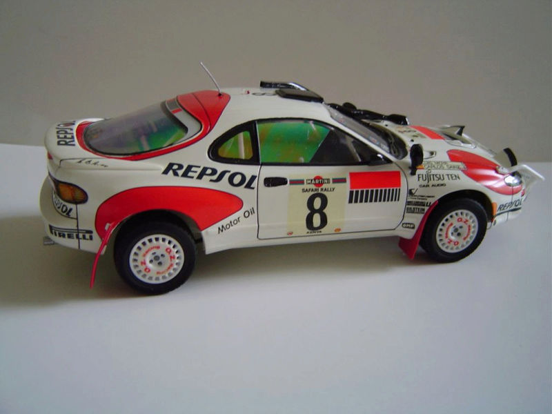 Toyota Célica Tamiya 1/24° GT FourRC  '92 Safari Rally Winner Captu278