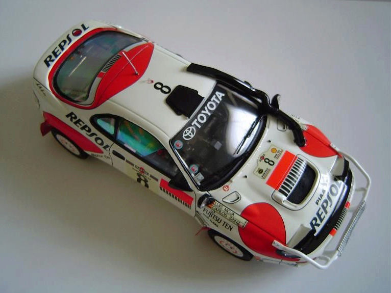 Toyota Célica Tamiya 1/24° GT FourRC  '92 Safari Rally Winner Captu280