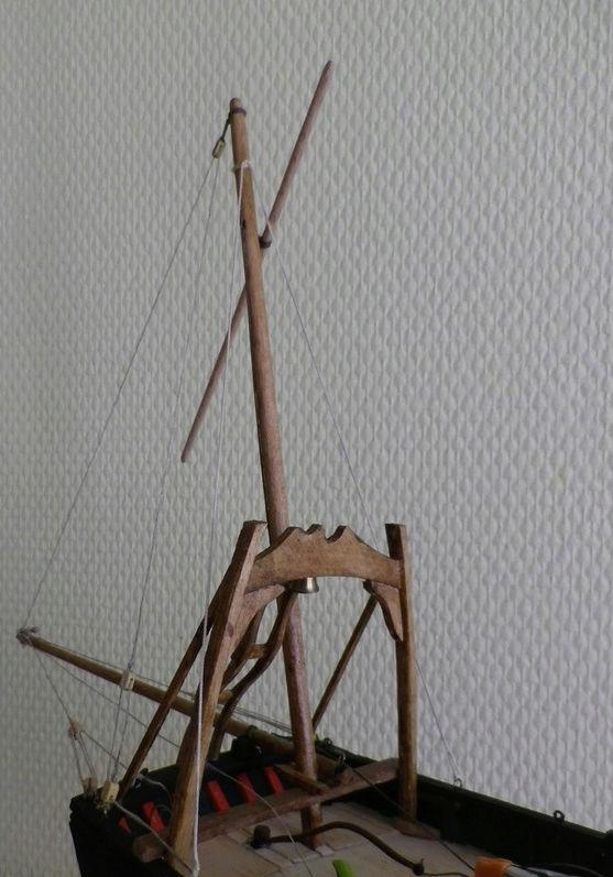 """Pas à pas d'une maquette terminée : le """"Marie-Adéaïde"""" - Harenguier. Kit Soclaine au 1/50ème Captu285"""