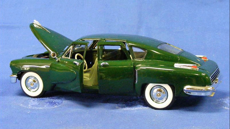 Tucker 1948 Limited edition 1/24° Franklin Mint. Captu306