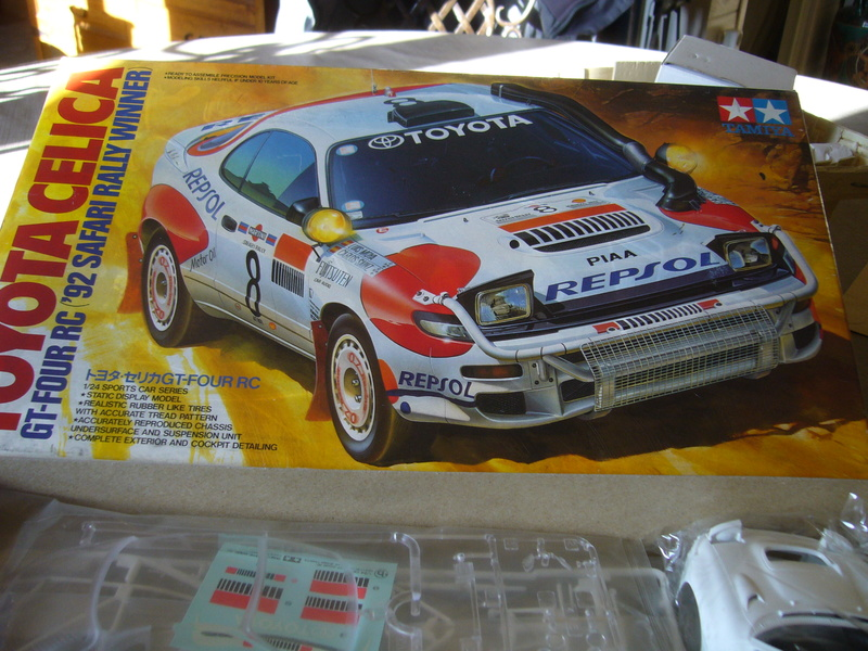 Toyota Célica Tamiya 1/24° GT FourRC  '92 Safari Rally Winner P1210228