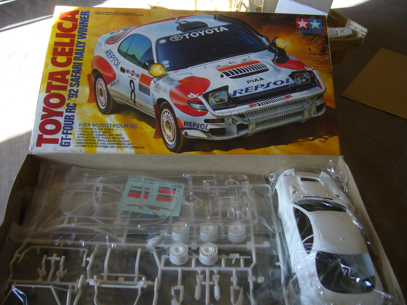 Toyota Célica Tamiya 1/24° GT FourRC  '92 Safari Rally Winner P1210230