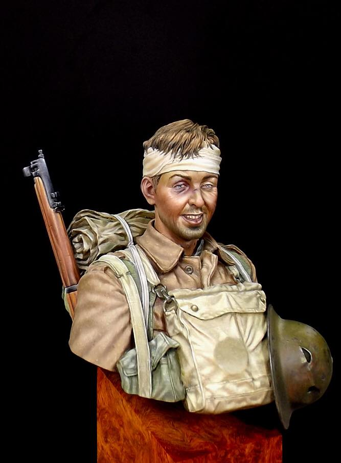 Buste Soldat Britannique 1GM par Anson Chen 14937410