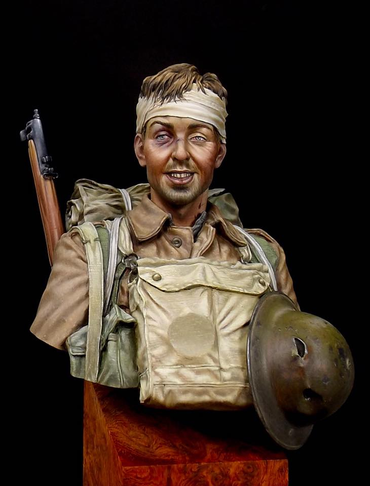 Buste Soldat Britannique 1GM par Anson Chen 14956510