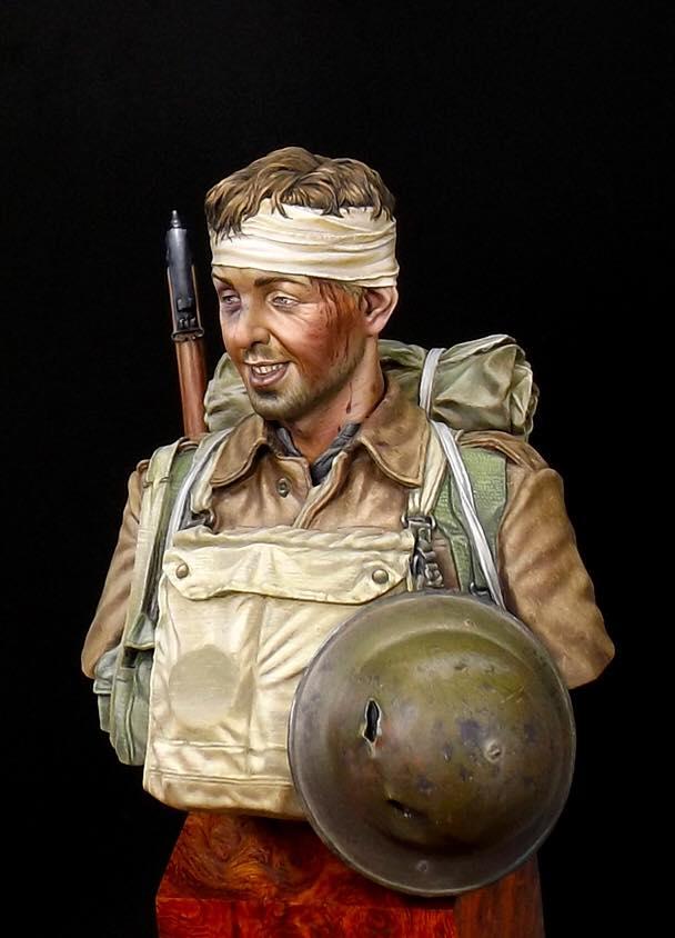 Buste Soldat Britannique 1GM par Anson Chen 14963211