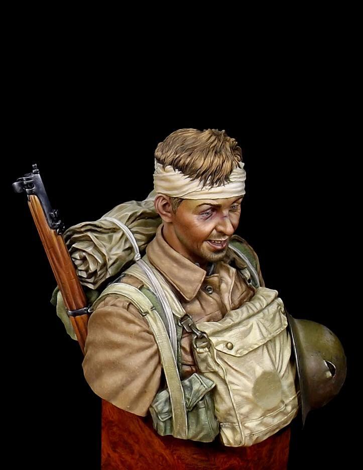 Buste Soldat Britannique 1GM par Anson Chen 14991810