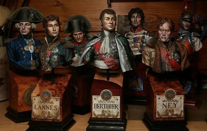 Napoleonic Suicide Squad !(Bustes ) par Alexandre Cortina Bonastre 14992010