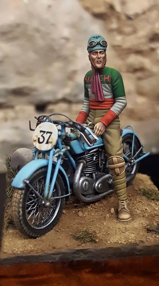 Motocycliste année 50-60 ( civil ) photo de Pepe Gallardo 15032710