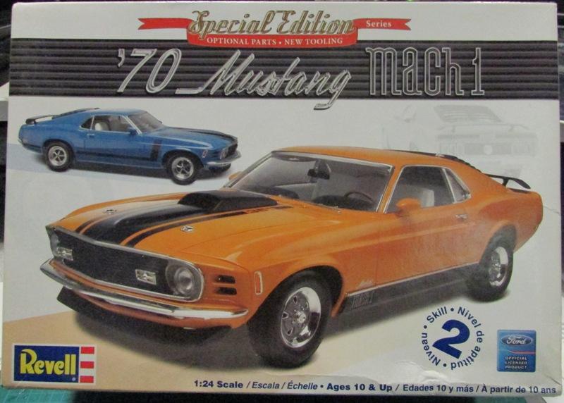 1970 Mustang Mach 1  01611
