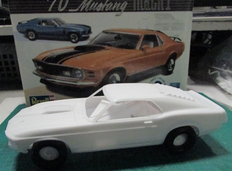 1970 Mustang Mach 1  01710