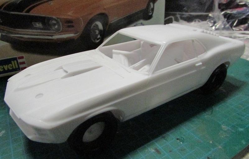 1970 Mustang Mach 1  01810