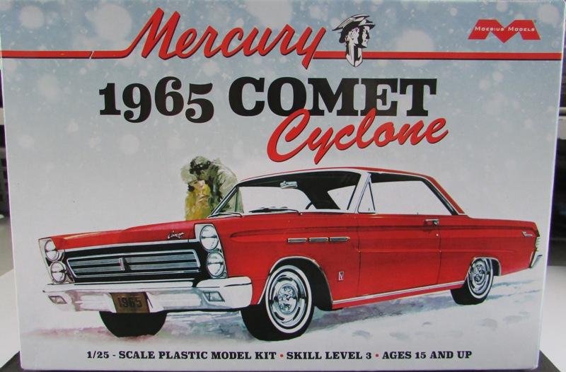 Moebius 1965 Mercury Comet Cyclone 26f41d10