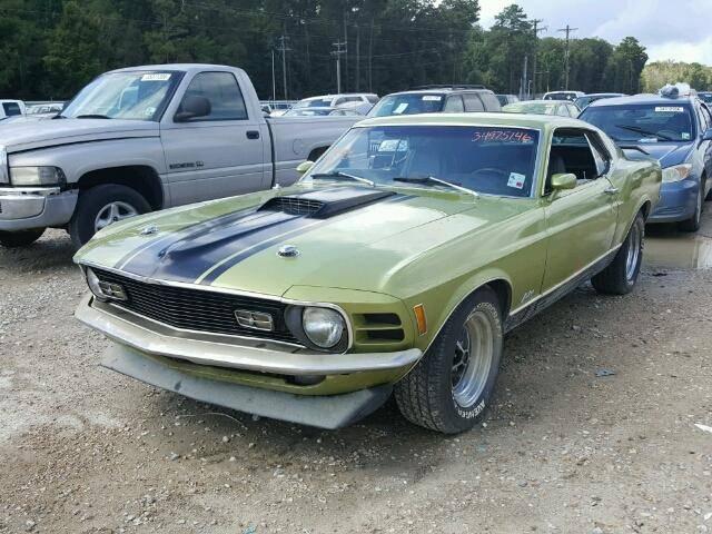 1970 Mustang Mach 1  56616810