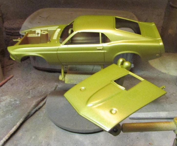 1970 Mustang Mach 1  98fae110