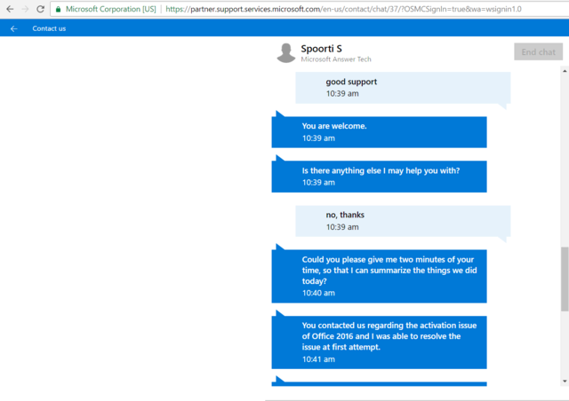 Hướng dẫn get confirmation ID (ID step 3) Office/Windows bằng cách Chat Với Microsoft Activa20