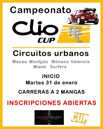 CAMPEONATO CLIO CUP 2017 Clio_c11