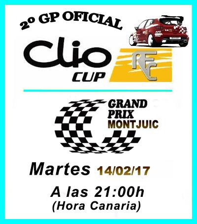 SEGUNDO GP CLIO CUP ( MONTJUIC ) Montju10