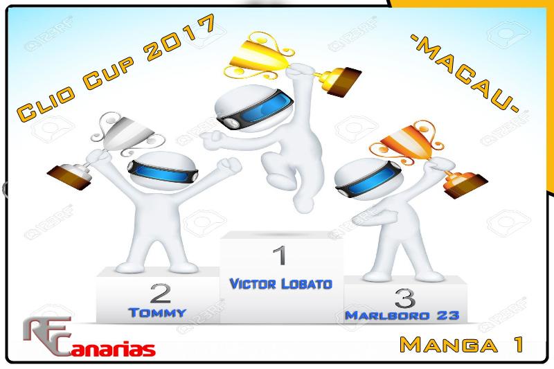 PRESENTACION GP MACAU (CLIO CUP 2017) Podium10