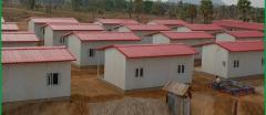 Secteur d'Aquaria Camp des réfugiés Francovares.  Camp10