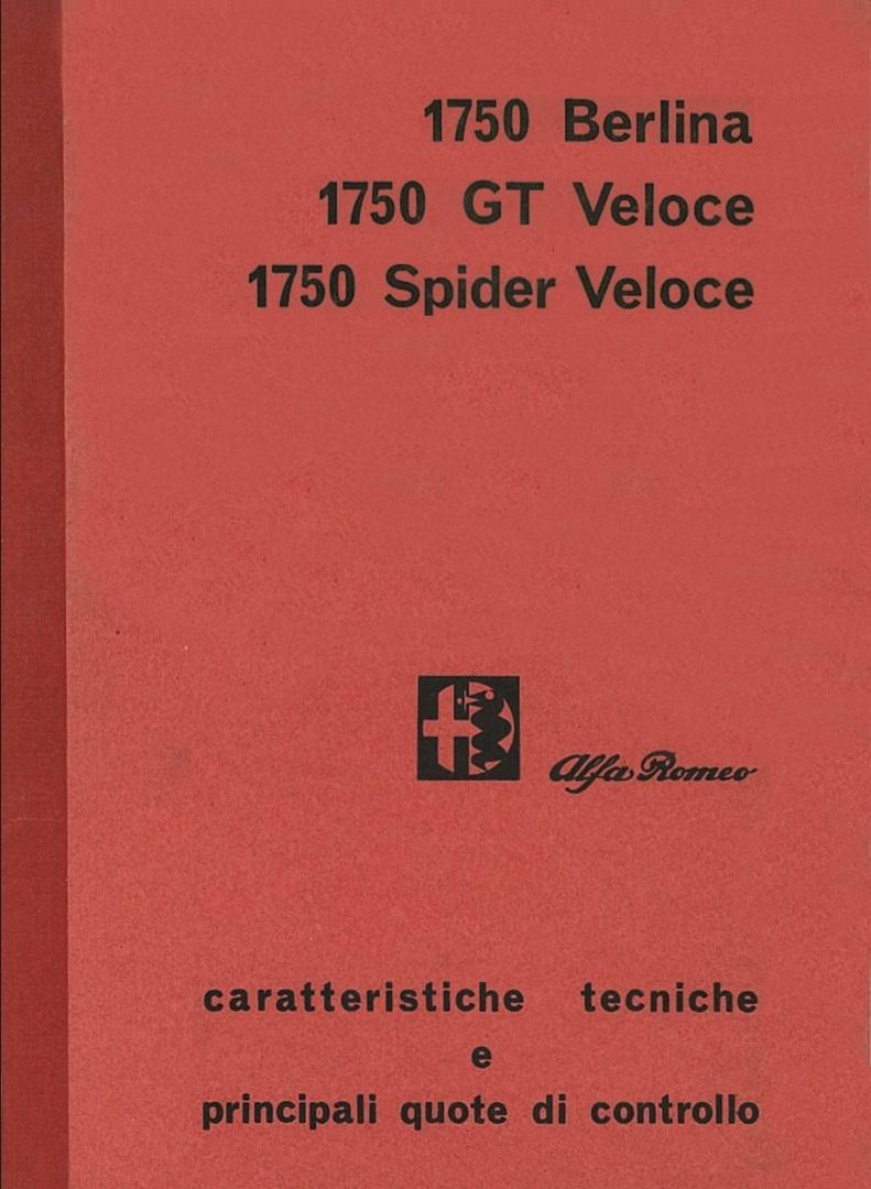 manuel du conducteur pour Alfa Giulia Sprint GT de 1964 175010