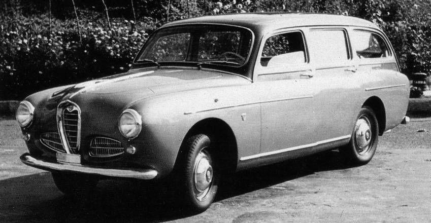 Alfa Romeo, le giardinette che non avete mai visto 190gia10